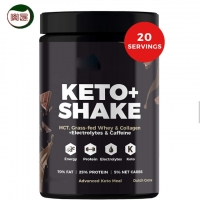 FDA 500g/Bottle Low Carb Meal Replacement Shakes