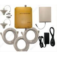 Quality GSM/UMTS 900mhz/2100mhz dual band mobile phones signal repeaters 3G mobile phone booster for sale