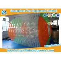 Buy cheap Colorful 2.7*2.4*1.8m Professional Inflatable Water Roller for Outside Pool Toys product