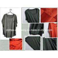 Quality 2013 Summer Hot Short-Sleeved T Shirt for Women Loose Wearing O-Neck Bat Sleeve for sale