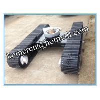 Quality steel track undercarriage steel crawler undercarriage with swivel joint for sale