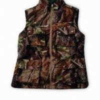 Quality Reversable Hunting Shooting Vest Hunting Set Camo Blaze Orange Fleece Hunting Set for sale