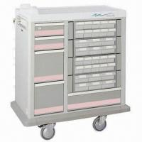 Quality Hospital Trolley/Medicine Cart, Made of Metal for sale