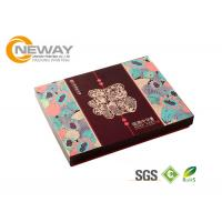 Buy cheap Luxury Folding Paper Carton Packing Box Fashion OEM Design Color Printing product