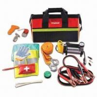 Quality 13 Pieces Car Emergency Kits, Includes 25 Pieces Tools, Used for Repairing Cars for sale