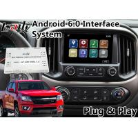 Quality Android 6.0 Multimedia Video Interface for Chevrolet Colorado / Impala MyLink System 2015-2018 , GPS Navigation for sale