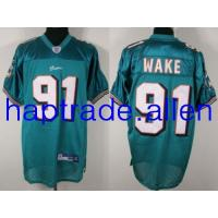 China Wholesale football jerseys 100% Nylon Miami Dolphins #91 Cameron Wake Authentic Green jerseys wholesale free shipping mix order on sale
