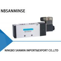 3 Way 2 Position Pneumatic Solenoid Valve , 4V 400 Series Pneumatic Pilot Valve
