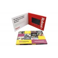 Quality Big Memory Capacities Promotional Video Brochure With USB Port Connection for sale