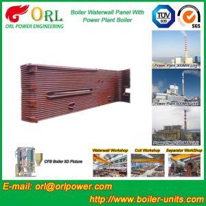 Power Station Boiler Water Wall Natural Circulation High Temperature