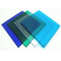 Quality Anti Uv 4 * 8ft Clear Polycarbonate Sheet With High Light Transmission for sale