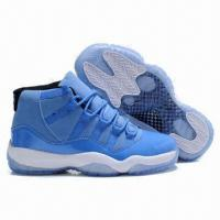 China Men's Fashionable Style Basketball Sneaker with PU Upper and Phylon/Rubber Outsole, Sizes 40 to 45# on sale