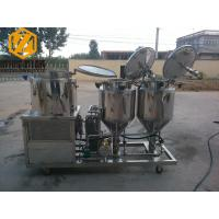 Quality 2 - 4 Vessels Home Brewing Equipment Flexible / Steel Auger Malt Milling Unit for sale