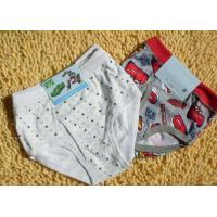 Buy cheap Custom Cotton Plus Size Breathable Dot Organic Childrens Underwear product