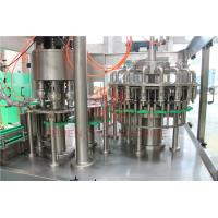Quality 8000BPH Plastic Bottle Filling Machine , Rinsing Filling Capping Machine Food Grade for sale