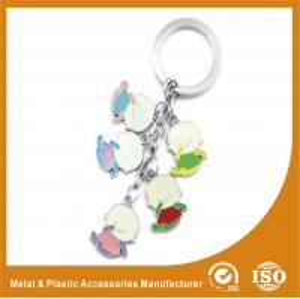 Baby Shape Drop Personalised Engraved Keyring / Customised Key Chains