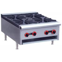 Quality Commercial Restaurant Cooking Equipment Table Top Gas Stove With 1 / 2 / 4 / 6 Burners for sale