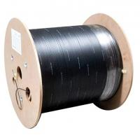 Quality Single Mode FTTH Fiber Optic Drop Cable G.657 Indoor Outdoor 2 Core Custom Length for sale