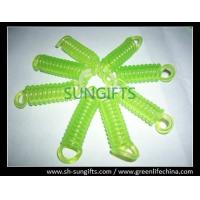 China Light green spiral coil, China wholesale small mini plastic coil chains on sale