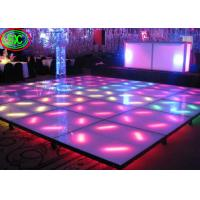 Quality 32768 Pixels / Sqm Interactive Dance Floor SMD 2727 Led Lamp For Advertising / Car Show for sale