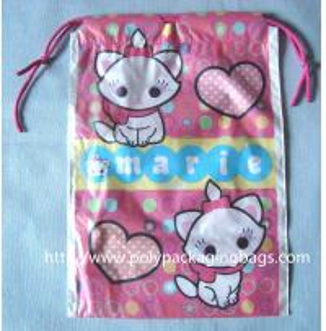 Buy cheap Custom Plastic Drawstring Bags from wholesalers