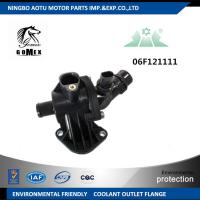 China Coolant Outlet Flange , Thermostat Housing Assembly 06F121111, SWT-L185 105D for VW GOLF V JETTA III PASSAT on sale