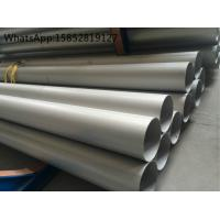 DIN 1.4541 or TP321 ASTM A312 Welded Stainless Steel Pipe and Tube with SRL , DRL