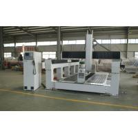 Quality Plywood / PE / Foam 5 Axis CNC Router Machine With Economic 5 Axis Head for sale