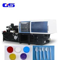 Quality 900KN Clamping Force Abs Plastic Injection Molding Machine For Bottle Cap for sale