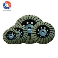 Quality High Quality Turbo Diamond Cup Grinding Wheel for Marble Granite Concrete Stone for sale