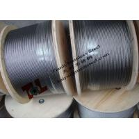 Quality 316 A4 1.4401 7x19 16mm Stainless Steel Wire Rope with  Weight 1024kg per 1000m for sale