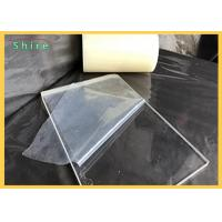 China Transparent Plastic Sheet Protective Film For Plactic Board / PVC PE Protection Film on sale