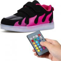 China USB Rechargeable Remote Control LED Shoes For Toddlers 11 Lighting Changing Modes on sale