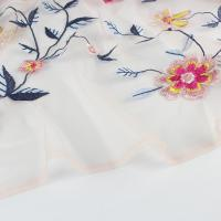 Buy cheap 3d Guipure Lace Multi-Color Embroidery Lace Fabric For Garment from wholesalers