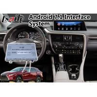 Quality Android 7.1 Navigation Interface System for 2015-2018 Lexus RX 350 with Mouse Control 12.3 Inch Screen for sale
