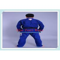 Buy cheap bjj gi gi jiu jitsu gi uniform blue bjj gi from wholesalers