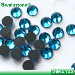 T0811 Good quality aquamarine ss10 hot fix rhinestone,dmc hot fix rhinestone,girl hot fix rhinestone wholesaler