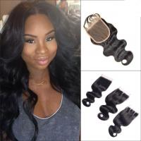 Quality No Tangle Body Wave Lace Part Closure Brazilian Virgin Hair For White Girl for sale