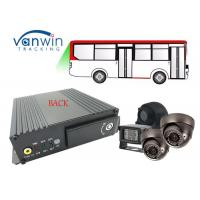 Buy cheap 4CH 720p sd card mdvr gps 3g wifi Mobile DVR / MDVR for school bus with AHD Analog Camera product