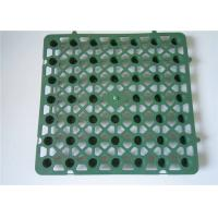 Quality Construction product black draining hdpe board 10mm drainage cell Plastic single side dimple green roof drainage board for sale