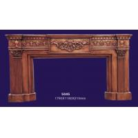 Quality 18th Century Antique English Style Decortive Fake Fireplace Frame Mantel 5045 for sale