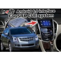 Quality Cadillac SRX CUE car video interface mirror link Car Multimedia Navigation System for sale