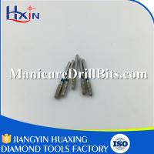 Sliver Diamond Dental Drill Bits Dental Rotary Instruments 1/16