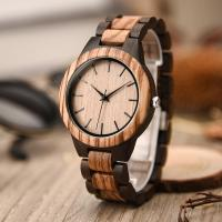 Buy cheap Vintage Round Case Japanese Quartz Wrist Watch Burlywood Color Logo Customized from wholesalers