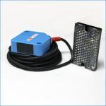 Quality 12Vdc Retro-reflective Photoelectric Sensor Switch 4m Sensing Distance Transducer for sale