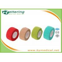 Quality Non Woven Elastic Self Adhesive Bandages for finger wrap, cohesive bandage for sale