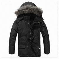 China Men's Down Jacket, Warm, Hooded, Various Colors Available on sale