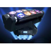China Disco Party DJ Lighting Moving Head Spider Lights Cree LED 8x10W RGBW Multi Color on sale