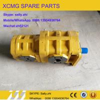 Quality XCMG  twin gear pump ,5004048, XCMG loader  parts  for XCMG wheel loader LW640G (16G0070234) for sale