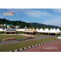 Buy cheap White Pagoda Tent , Gazebo Canopy Tent 3x3m, 4x4m, 5x5m, 6x6m, 8x8m, 10x10m from wholesalers